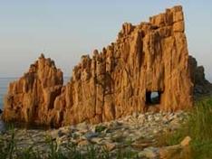 Roter Felsen von Arbatax